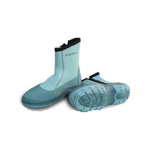 Snowbee neoprene flats wading boots for Wading shoes for fishing