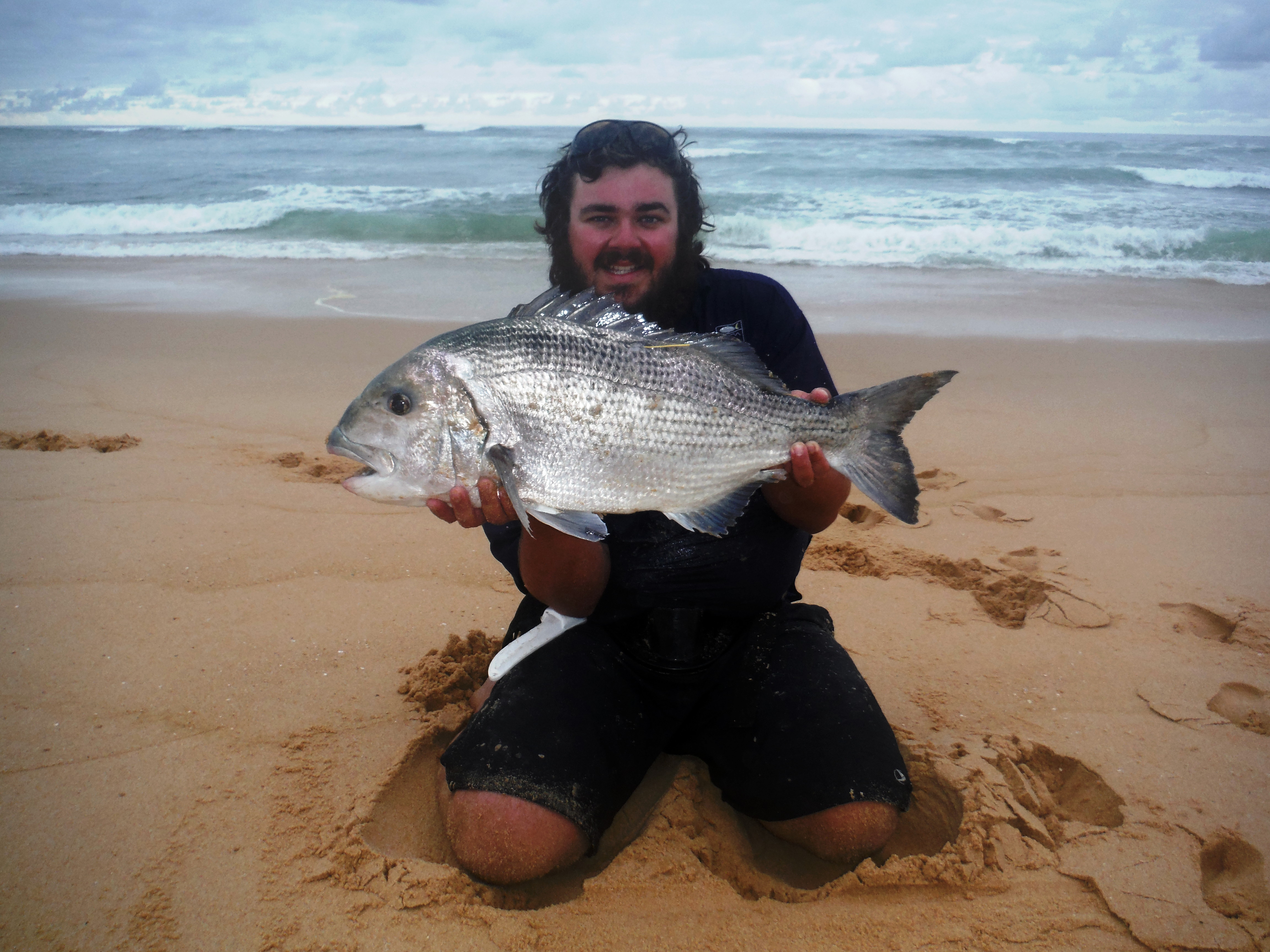 Got this Musselcracker in the Stilbaai area. Fish measured 68cm Fork and 75cm Total. Fish was tagged
