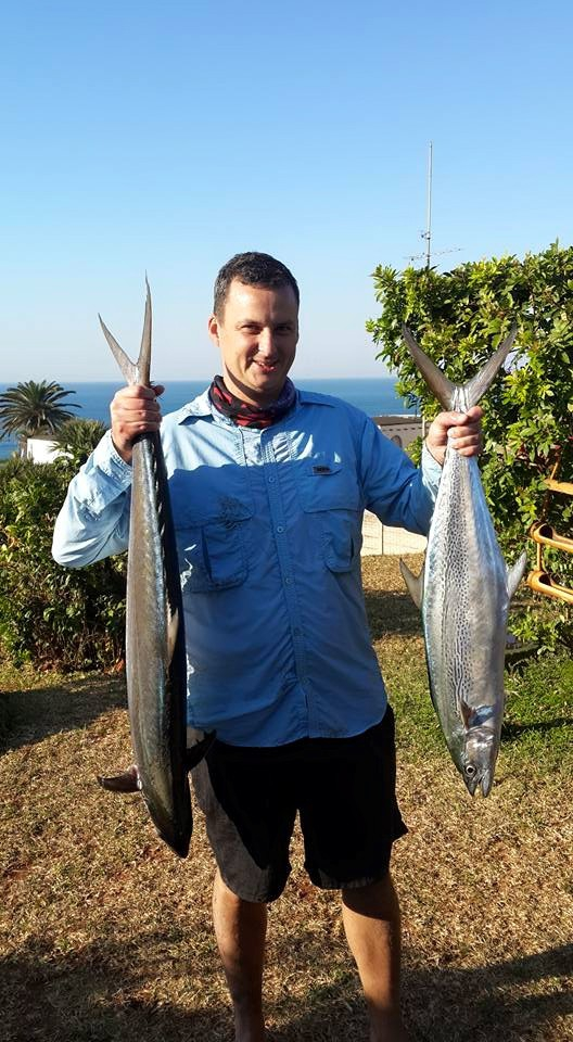 My two QM (4&8 kgs) caught on fathers day at Illovo beach. I caught both on a 1 ounce spoon usin