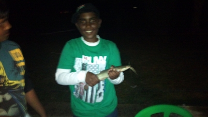 Caugth @ Chelmsford dam, on mealie by Cole Pothiah Barbel (1st freshwater fish)