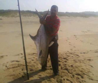 18 kg garrick caught at Winklespruit recently as well Garrick