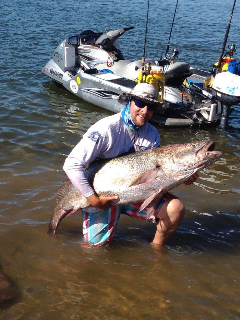 Caught this nice 30kg cob at Witsand on new years day (01/01/2015). What a way to start the year. IM