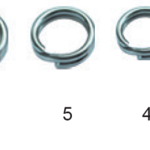 Swivels-Splitring-Round